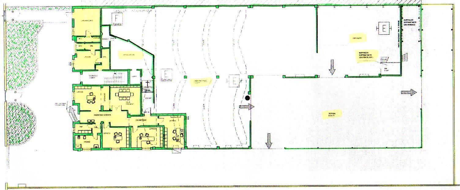 Capannone con Uffici ristrutturato Imola