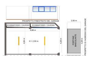 Garage da 4 auto semicentrale Castel San Pietro Terme